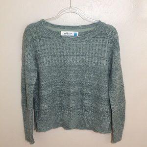Sparrow Green Knit Sweater Sz S